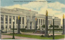 OLD POST CARD USA ETATS-UNIS INDIANAPOLIS INDIANA AMERICAN LEGION HEADQUARTERS