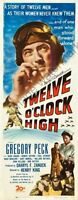 Twelve Oclock High Movie Poster Insert 01 Replica