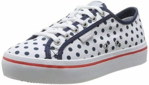 À 41 Pepe 36 40 Jeans 39 New Duffy Baskets Pois amp; Blanc Femme 38 taille Ovp qw41E4z