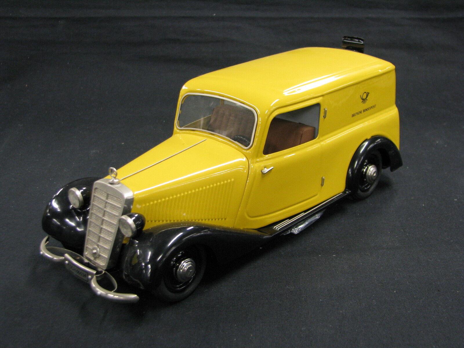 liquidación hasta el 70% Schuco Mercedes-Benz 170 V Kastenwagen 1 1 1 18 amarillo  Deutsche Bundespost  (JS)  saludable