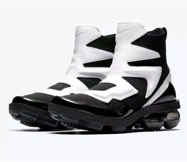 Size 6 Nike Wmns Vapormax Light II 2 Hi Tuxedo White Black AO4537-002