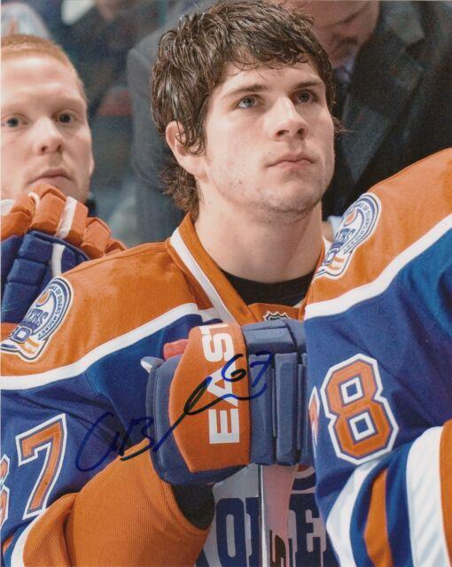 Edmonton Oilers Gilbert Brule Signed Autographed 8x10 Photo COA