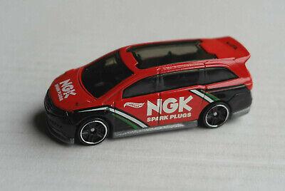LiebenswüRdig Hot Wheels Honda Odyssey Rot/schwarz Ngk Spark Plugs Van Mattel Hw Car Red/black Produkte Werden Ohne EinschräNkungen Verkauft