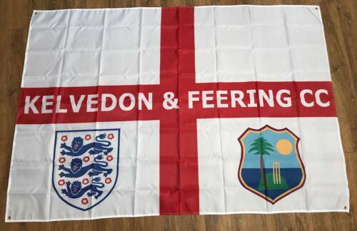 CUSTOM PRINTED FOOTBALL FLAG BANNERANY SIZEANY DESIGNSPORTS ENGLAND