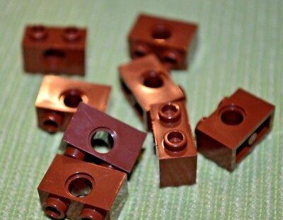 1x1 Black Bricks w// Center Hole ~ Technic ~ Lego ~ NEW ~ Castle 8
