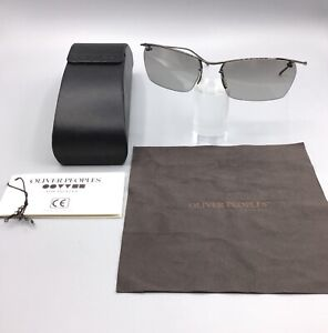 Oliver-Peoples-vintage-Sunglasses-Occhiale-da-Sole-Model-DeVille-BKC-Gun-Metal