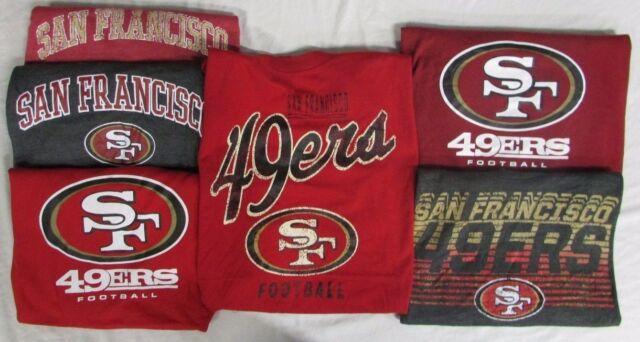 innovative design bd2b0 50c4d San Francisco 49ers Men's Big &Tall 2 SHIRTS! *MYSTERY SHIRT* NFL
