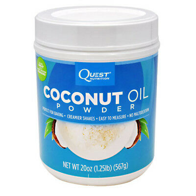 Quest Nutrition Coconut Oil Powder - 1.25 lb (20 oz) - 56 Servings