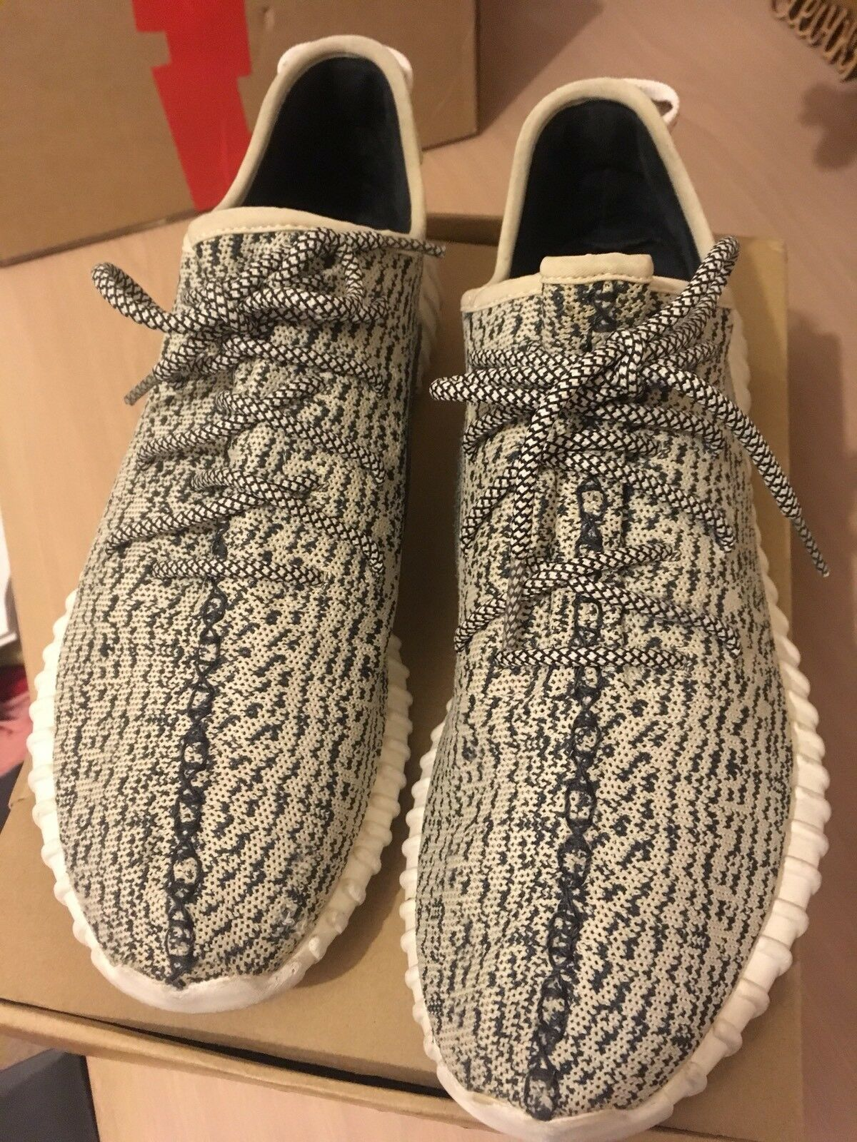 Adidas Yeezy 350 Turtle Dove US13
