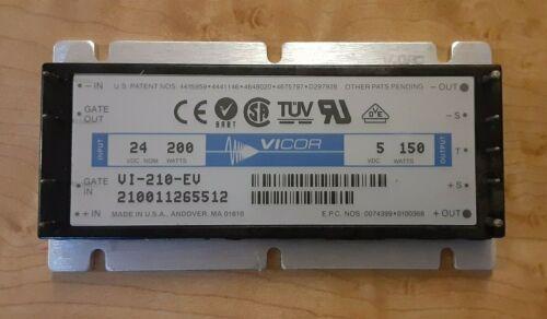 200w in Vicor 24v VI-210-EV 150w out 5v DC Converter