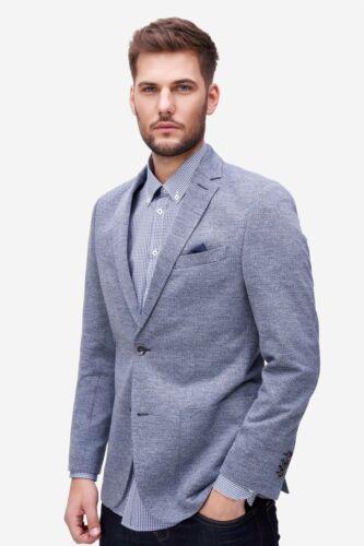 Bugatti-Veste De Sport Hommes Business Elegant Bleu Revers Col Designer neuf 229 €