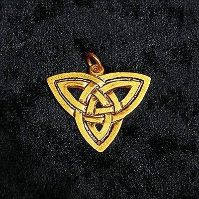 """Legends of Rhiannon ₪ Anhänger """"Göttin der Dreifaltigkeit"""" ₪ Silber, vergoldet"""