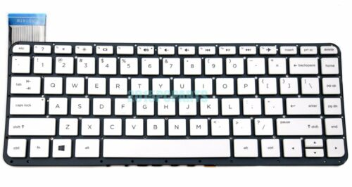 New White HP Stream 13-C 13-C020NR 13-C030NR 13-C100 13-C110NR Keyboard US
