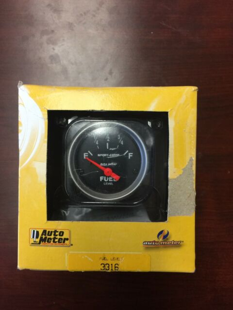 Auto Meter 3316 Sport-Comp Electric Fuel Level Gauge