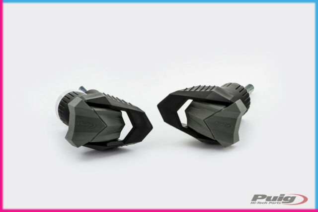 PUIG CRASH PADS R12 KAWASAKI Z750R 11-12 BLACK