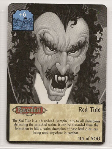Spellfire 4th Edition Card M/NM 114/500 Red Tide