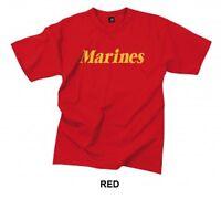 Us Marine Corps  Marines  Red T-shirt Usmc Physical Training Pt Workout S-2x