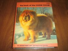 The Book of the Chow Chow Autographed by both authors Draper & Brearley 1977 HC