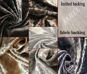 Premium-Crushed-Velvet-Upholstery-Fabric-Soft-Flexible-Curtains-Cushions-Chair