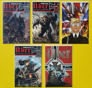 Über, Kieron Gillen # 0, 1, 2, 3 w/Variants, Avatar Comic Book LOT