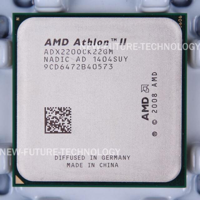 AMD Athlon II X2 220 (ADX220OCK22GM) CPU 4000 MHz 2.8 GHz Socket AM3 100% Work
