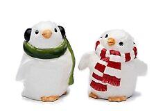 Penguin Couple Salt and Pepper Set, 2-1/8-Inch