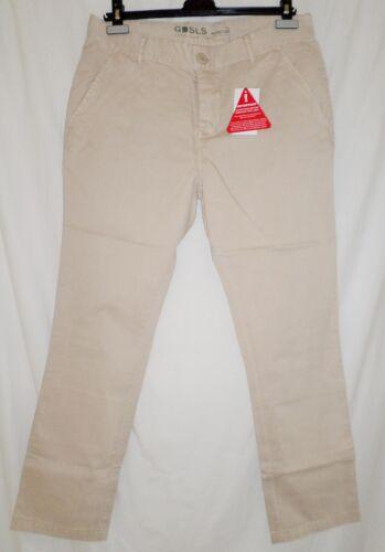 "Goodsouls Lightweight Plain Men/'s Slim Fit Chinos Stone Khaki Size 36/"""
