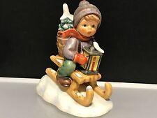 Hummel Figur 396 2/0 Fahrt in die Weihnacht 11 cm. Top Zustand