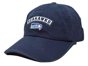 0c2318ed8 Image is loading Seattle-Seahawks-American-Needle-Mikey-NFL-Blue-Adjustable-