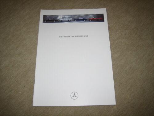 Coupé MERCEDES Classe E berlina T-Modello Cabrio prospetto brochure 5//1993