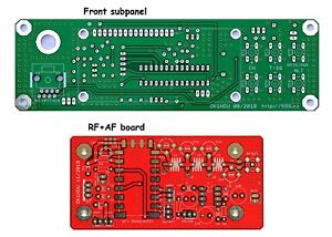 Set-of-2-PCBs-for-VHF-2m-or-UHF-70cm-FM-transceiver-with-DRA818V-U-module