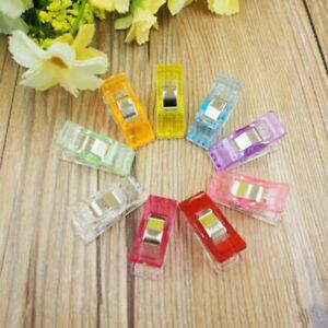20-50Pcs-Plastic-Powerful-Quilter-Holding-Wonder-Clips-Sewing-Accessories