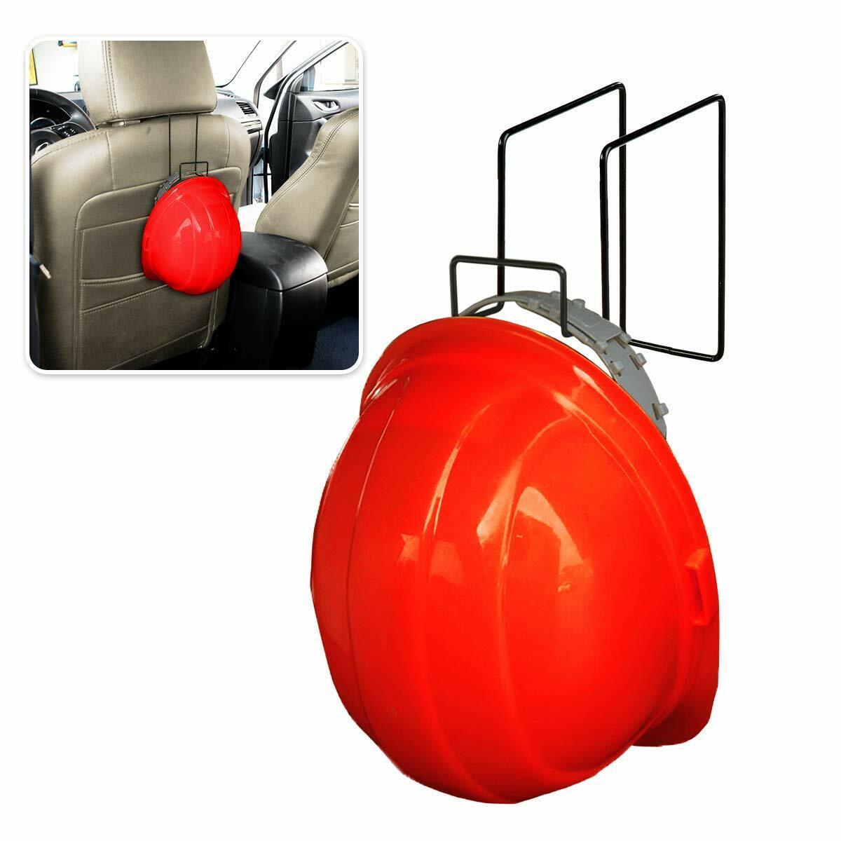 Zone Tech Car Back Seat Construction Hard Hat Hook Rack