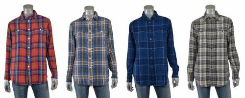 Camicia Di Lavoro Ralph Polo Plaid Vestibilità Donna Flanella Comoda Lauren vqwC0xT