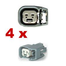 Pluggen injectoren - BOSCH EV6 (4 x FEMALE) connector plug verstuiver injectie