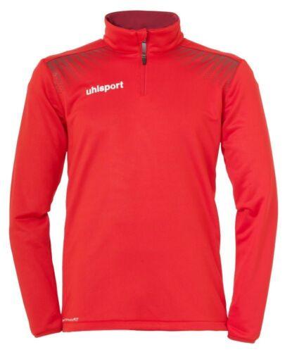 Uhlsport Fußball GOAL 1//4 Zip Top Shirt Herren rot dunkelrot