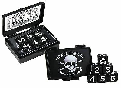 Pirate Farkel - Roll These Bones Dice Game - Australia only