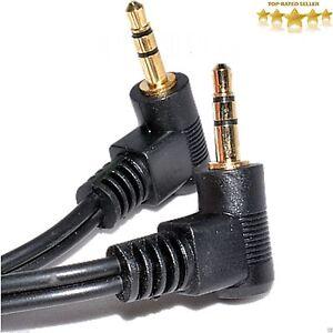 3.5 Mm Stéréo Jack à Jack Angle Droit AUX audio mâle Câble plomb-afficher le titre d`origine 3ZBmnQm8-08130214-107622016