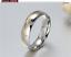 Couple-Rings-Stainless-Steel-silver-based-Gold-line-Promise-wedding-rings-gift 縮圖 4