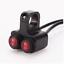 "22mm 7//8/"" 12v 16A Motorcycle CNC Aluminum Alloy Waterproof Illuminated Switch"