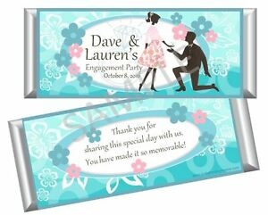 image is loading engagement wedding bridal shower candy bar wrappers party