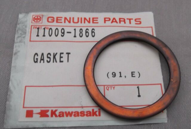 Genuine Kawasaki BN125 Exhaust Gasket 11009-1866