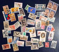 Lot de 50 timbres oblitérés France (II)