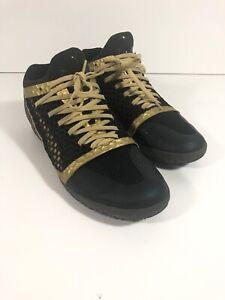 Details about Puma 365 Ignite Netfit CT Men's Indoor Soccer Shoes Gold Black 10447409 Size 10
