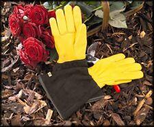 Gold Leaf Tough Touch Gardening Gloves LADIES FIT Gauntlet Gardening Gloves