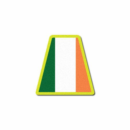 Ireland Flag Tet 3M Reflective Fire Helmet Single Tetrahedrons