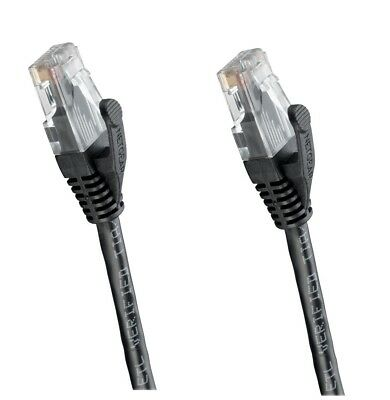 Networking Cables & Adapters Black Cat5e Rj45 To Rj45 5e Ethernet Cable Netgear Ct5b2 Network Cable 6.6'/2 M Ethernet Cables (rj-45/8p8c)