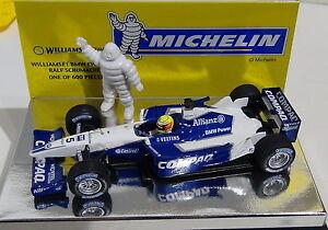 1:43 Ralf Schumacher ~ williams Fw23 ~ Michelin Ltd à 600pcs