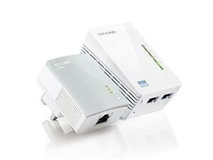 TP-LINK-TL-WPA4220KIT-AV600-Powerline-300M-Wi-Fi-Extender-Signal-Booster-Hotspot
