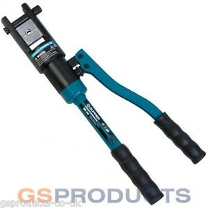 Steel Wire Rope Hydraulic Crimping and Swage Tool with 11 ...